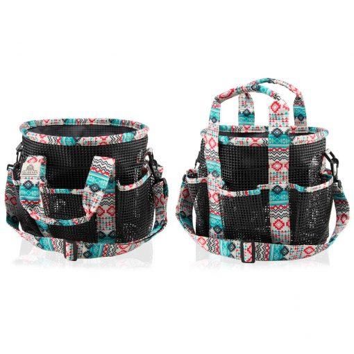 Equeenex - Horse Grooming Kit Bag - Viridian Green