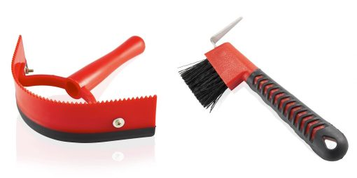 Horse Grooming Brush Set – Perfect for Full Body Horse & Pony Currying, Cleaning & Massaging
